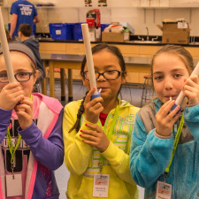 campers discover their own instruments