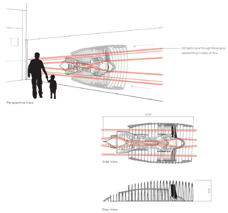 Science Forward – Intricate Engine Diagram