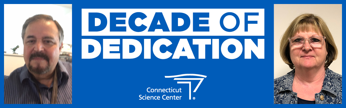 Celebrating 10 Years of the Connecticut Science Center: A Decade of Dedication with Ed Lane and Claudia Davis
