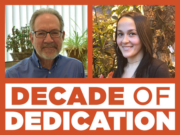 From Designing Exhibits to Data Analysis: A Decade of Dedication with Richard Thomas and Caity Leamy