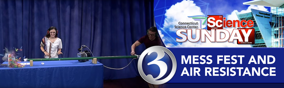 Science Sunday: Mess Fest at the Science Center