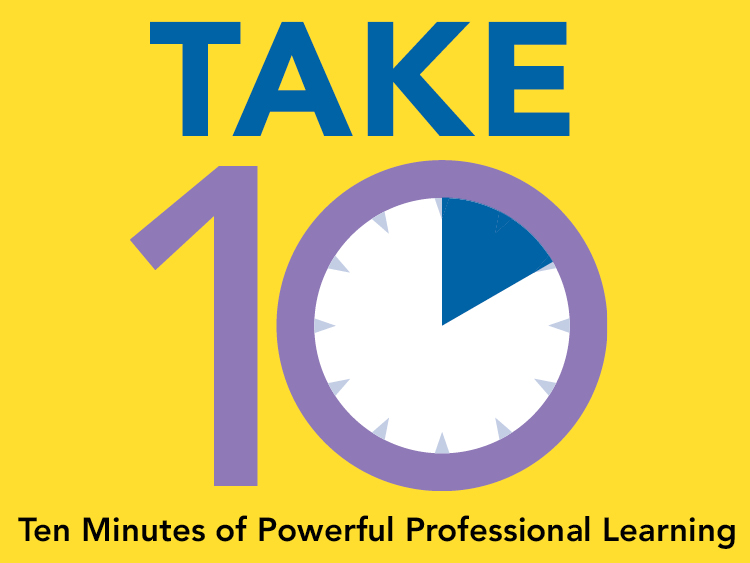 Take 10: Discourse in Distance Learning to Develop Equity